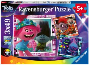 Trolls World Tour Puzzle 3x49